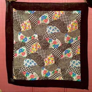 70s/80s CRAFTED WITH PRIDE PATCHWORK BANDANA